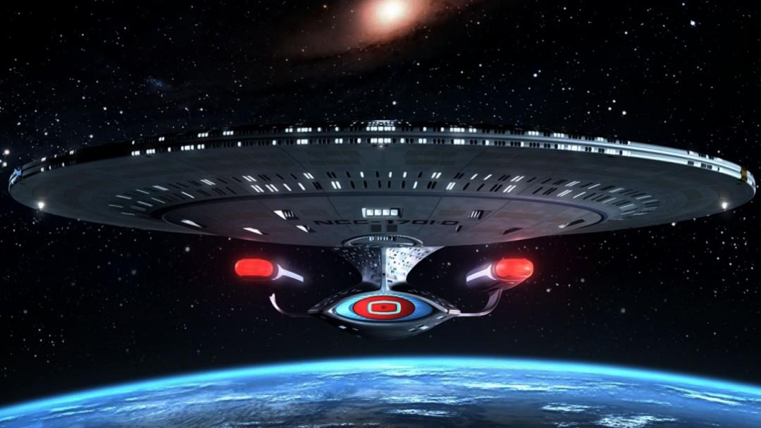 Star Trek Enterprise Ship Background HD Wallpaper 1080x607