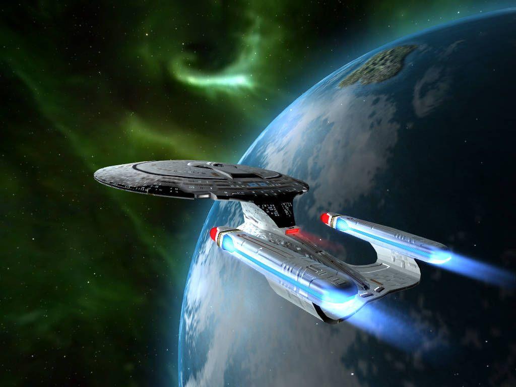 star trek enterprise earth background wallpaper   1024x768