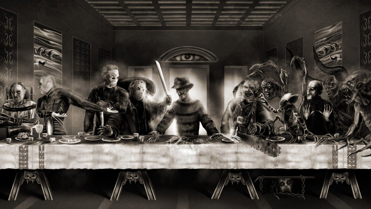 horror last supper 18864