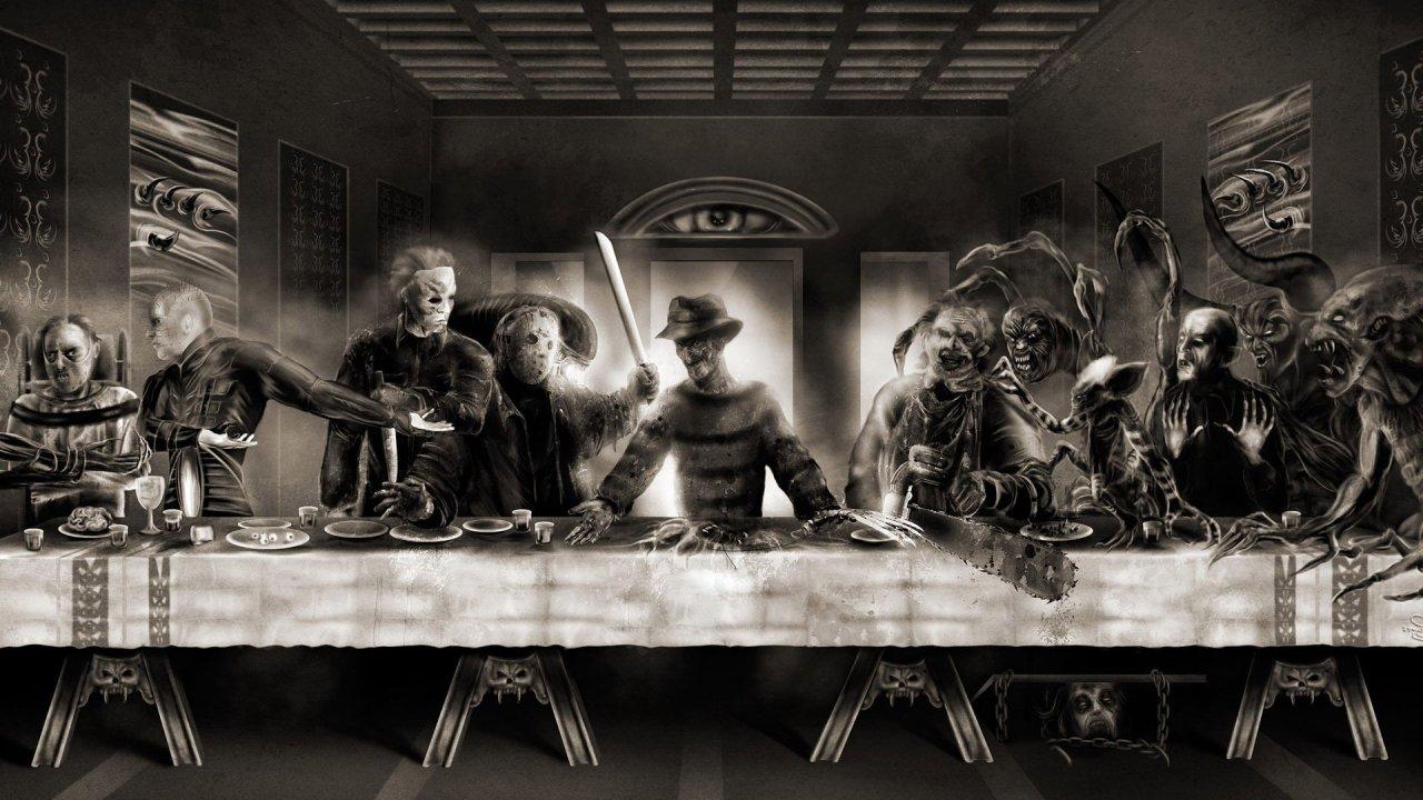 horror last supper 18864