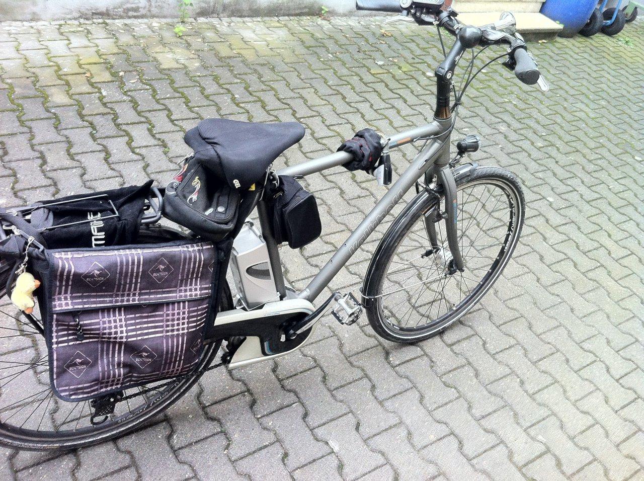 fahre gerne e-bike!